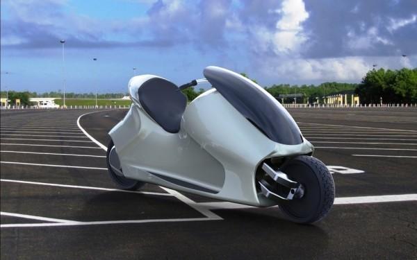 Thrustcycle GyroCycle: электрический байк, который не способен падать