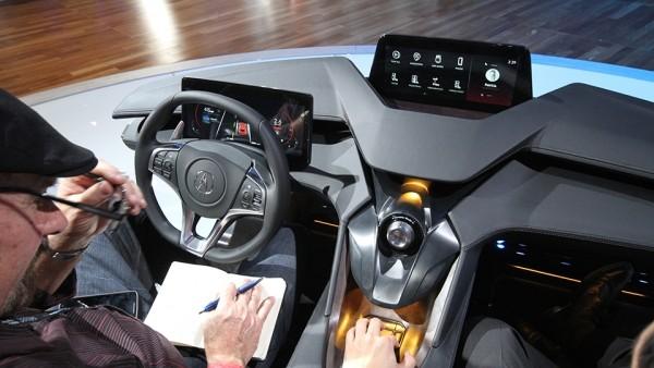 Acura показала автомобильный интерьер будущего