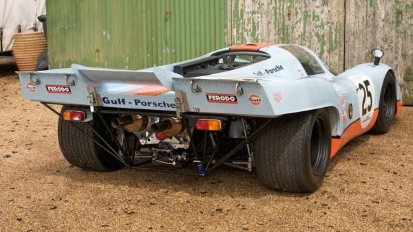 Легендарный спорткар Porsche 917 продают по цене нового Порше 911