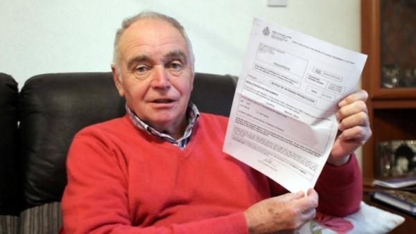 Британца оштрафовали за превышение скорости на скутере для инвалидов
