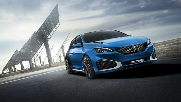 Peugeot построит гибридный «мега-хэтч»