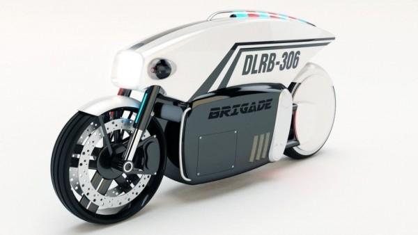 Канадский дизайнер придумал мотоцикл с автопилотом