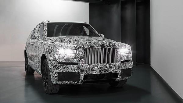 Rolls-Royce показал «почти серийный» внедорожник