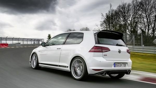 Трековый VW Golf побил собственный рекорд Нюрбургринга