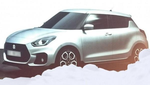 Дизайн нового Suzuki Swift раскрыли в Сети