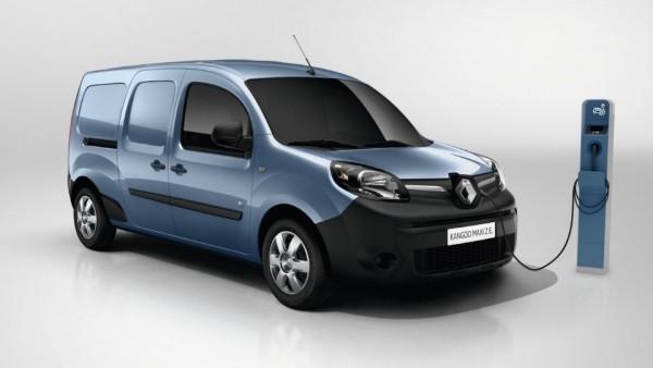 Запас хода электрического Renault Kangoo вырастет в полтора раза