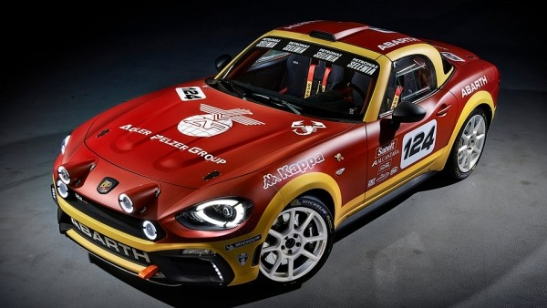 Abarth 124 Spider проедет в ралли полный гоночный сезон