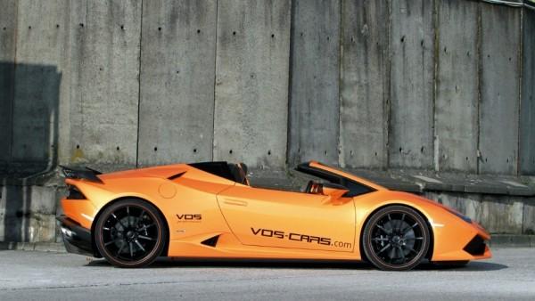 Открытый Lamborghini Huracan сделали легче и мощнее