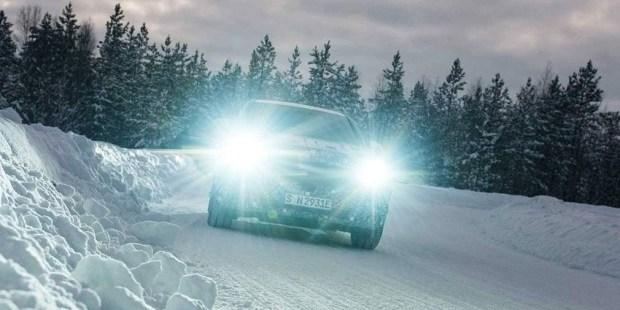 Новости: Mercedes показал первое изображение «зелёного» кроссовера EQC