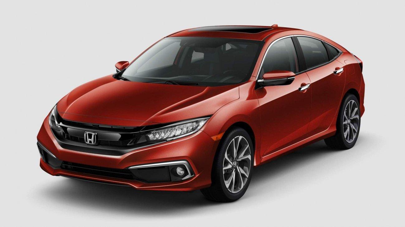 Honda представила обновленный Civic в 2019 году