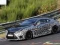 "Трековый Lexus RC F GT застали на ""Нордшляйфе"" - фото 4"