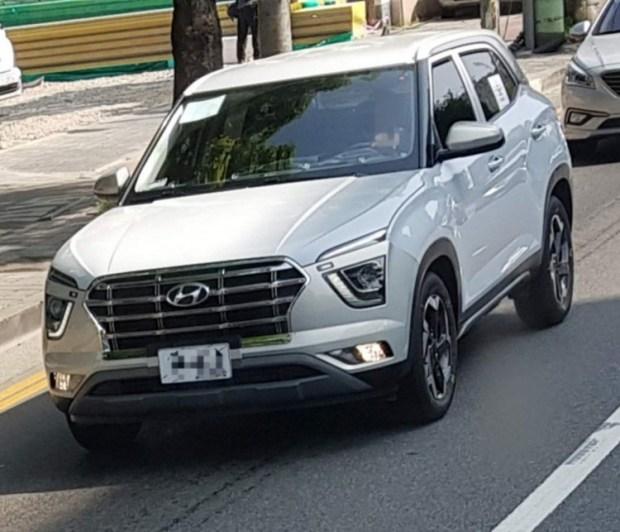 Hyundai Creta 2020 модельного года опять попалась
