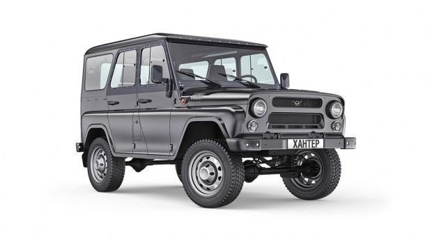 УАЗ «Хантер» сделали полноценным грузовым автомобилем