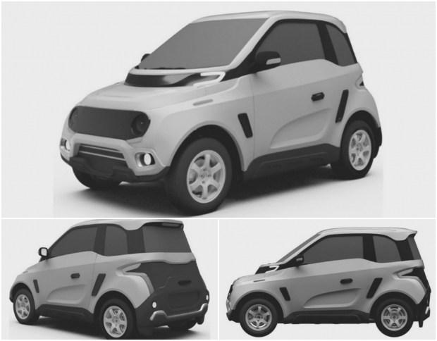 Патентные изображения русского электромобиля Zetta опубликовали всети интернет