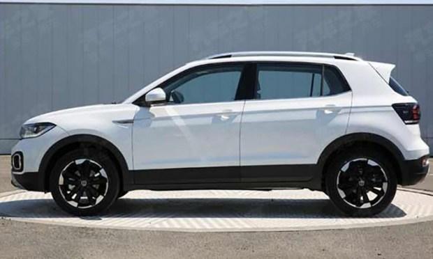 Размещены фото нового кроссовера VW Tacqua