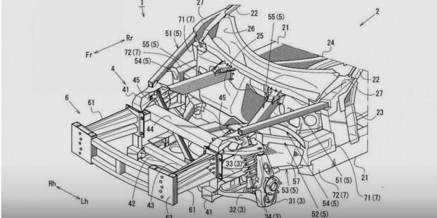 Патент намекнул на вероятную разработку Мазда RX-9— 1K