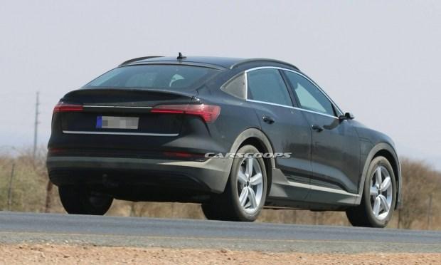 Ауди e-tron Sportback рассекретили допремьеры