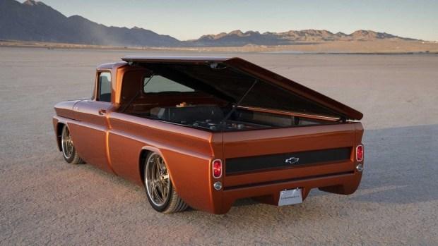 Chevy представит полностью электрическую версию грузовика C10