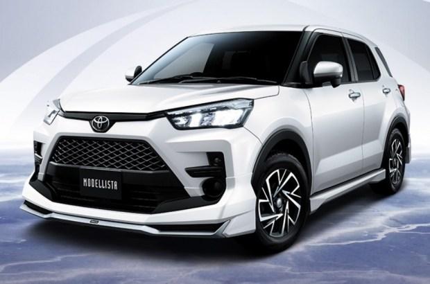 Компактный кроссовер Toyota получил первый тюнинг