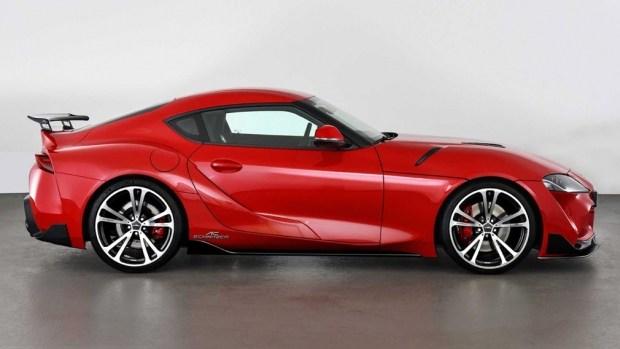 Ателье AC Schnitzer модернизировало купе Toyota Supra
