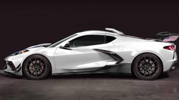 Chevrolet Corvette превратят в 1200-сильный гиперкар