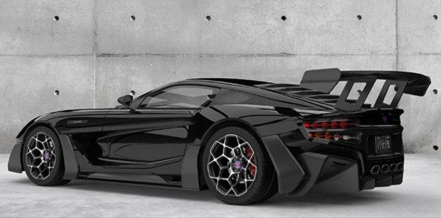 Представлен суперкар с 9,5-литровым V12