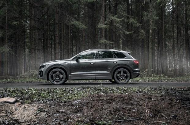 Дизельный Volkswagen Touareg прокачали до 500 сил