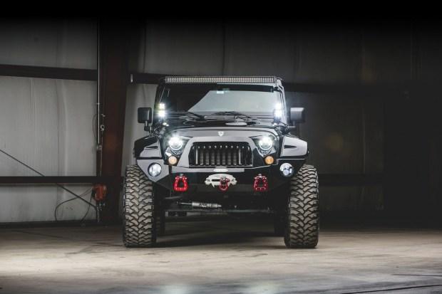 Jeep Wrangler c «дьявольскими» чертами пустят с молотка