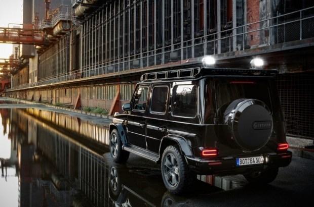 Brabus занялся выпуском бронированных Mercedes-Benz G-Class