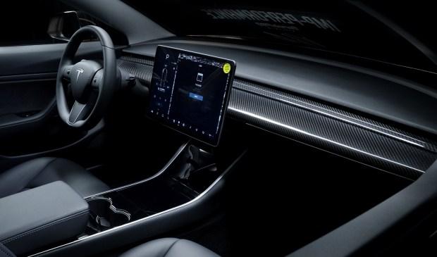 Tesla Model 3 получила агрессивный обвес