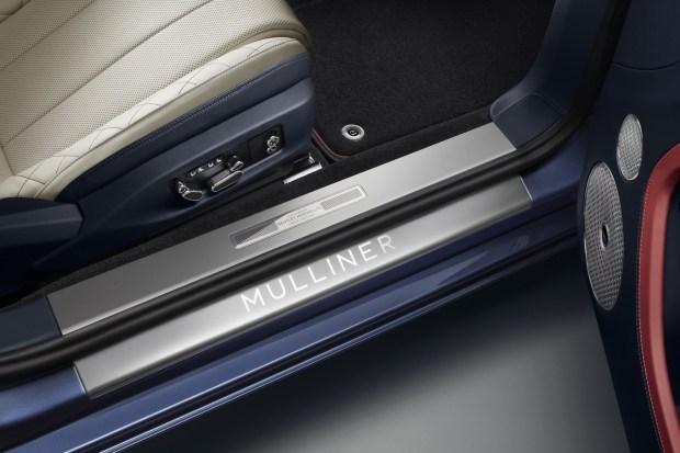 Bentley представила роскошный кабриолет Continental GT Mulliner