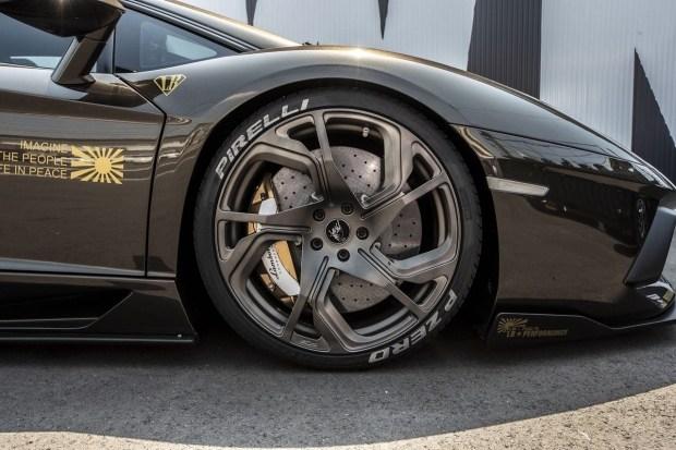 На любителя: продается уникальный Aventador от Liberty Walk