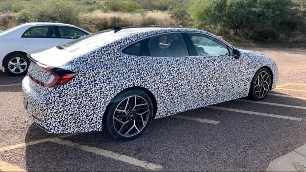 Hyundai готовит «заряженнный» Sonata. Будет ли «горячо»?