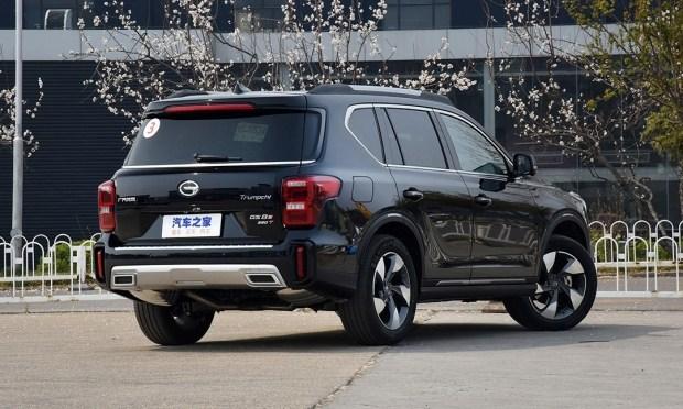 GAC начал продавать свой новый внедорожник GS8 S