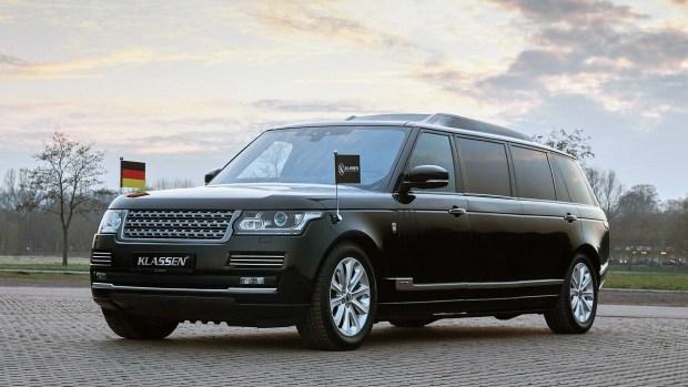 «Карета» для королевы: тюнинг большого Range Rover