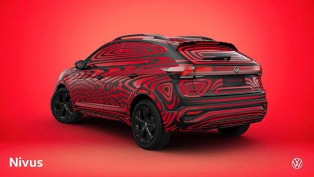 Кроссовер Nivus засветил полностью новую мультимедийку VW (видео)