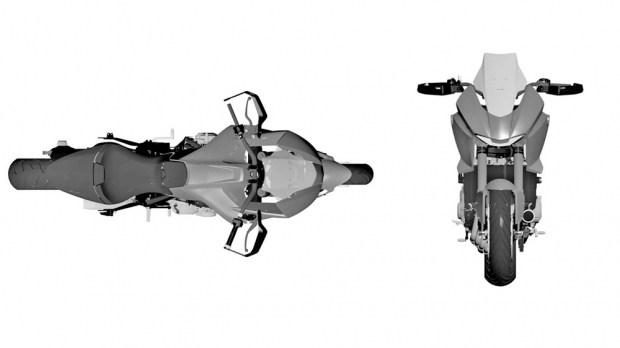Четырехцилиндровый «турист»: новый патент от Honda