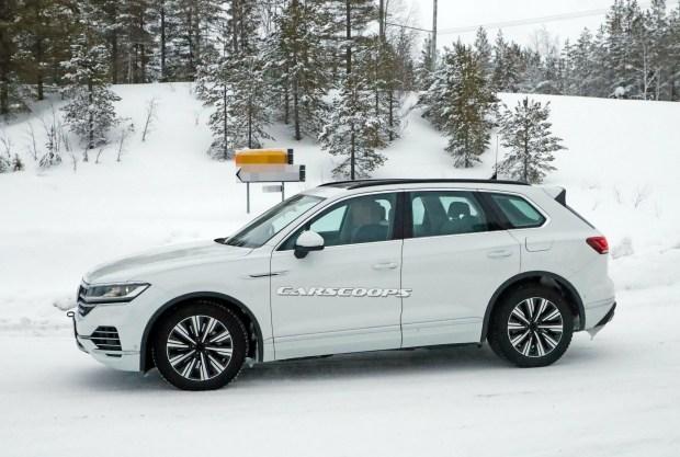 VW готовит «зеленую» версию Touareg GTE