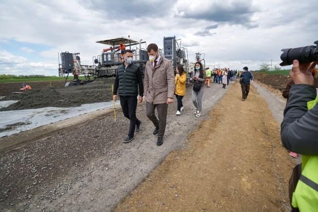 Дорога Н-14 (Александровка - Кропивницкий - Николаев) дождалась ремонта