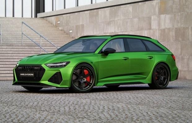5 пакетов «протеина» для Audi RS6