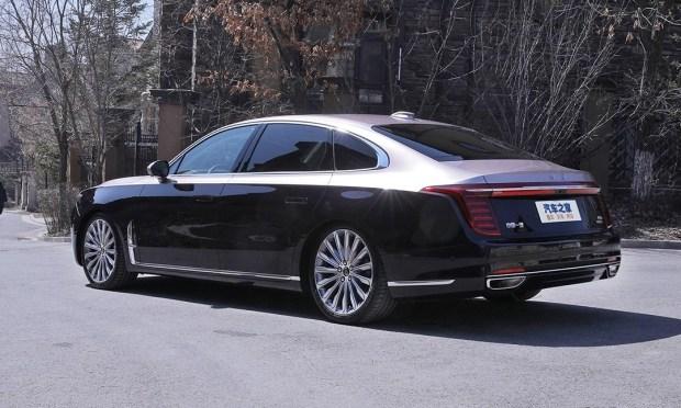 То ли Rolls, то ли Maybach: новый флагман HongQi