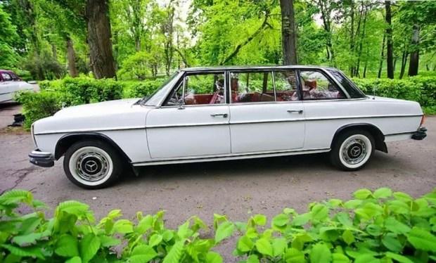 В Украине продают редчайший Mercedes W115 Lang