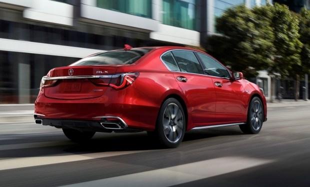 Acura попрощается с седаном RLX