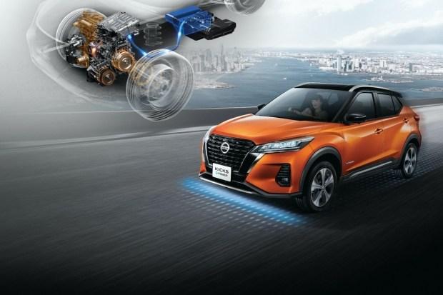 Обновлённый Nissan Kicks: гибрид дешевле конкурентов