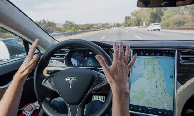 Недешевая опция: $100.000 за автопилот в Tesla