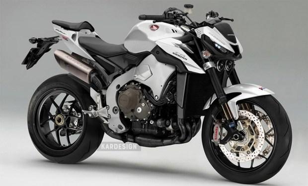 Стритфайтер Honda CB1000RR-R - очень хорошая идея