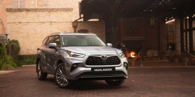 Начат прием заказов на кроссовер нового Toyota Highlander