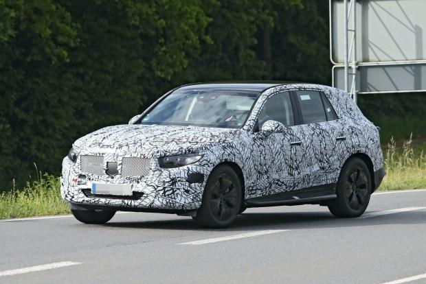 Новый Mercedes GLC засветился на шпионских фото