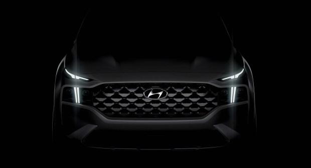 Новый Hyundai Santa Fe: первый тизер и дата премьеры