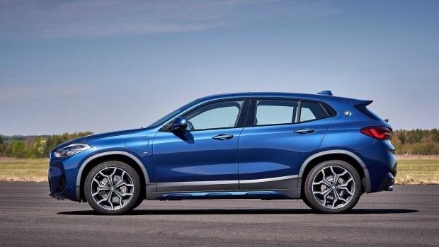 Баварцы представили гибридный BMW X2